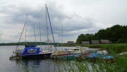 Boote am Krakower See